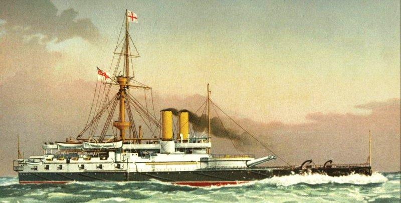 hms victoria 1890