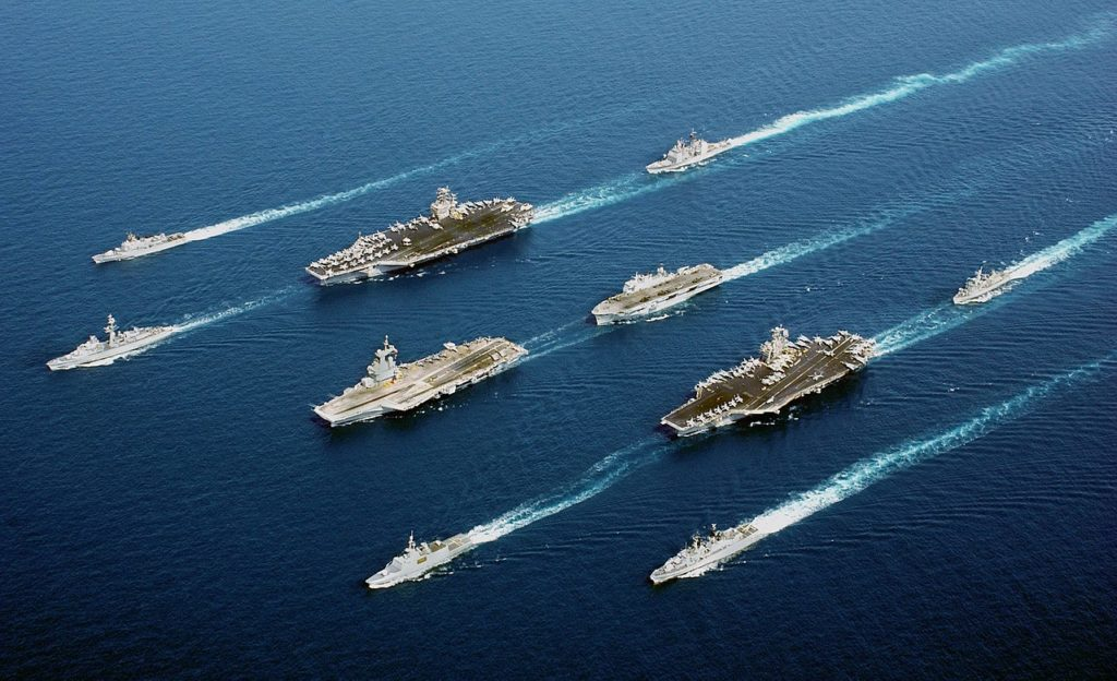 5 nations task force NATO