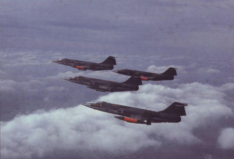 Bundesmarine Marineflieger F104G
