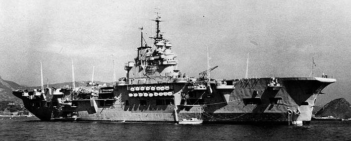 HMS Unicorn after the war