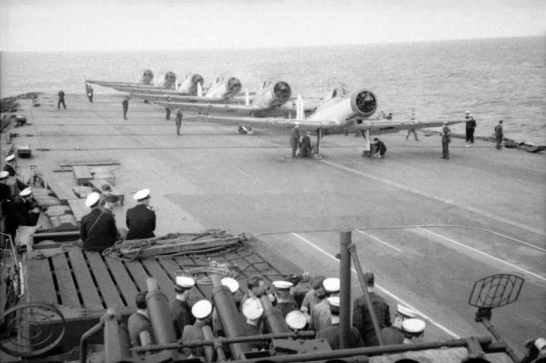 Blackburn Skua 800 Sqn HMS Ark Royal