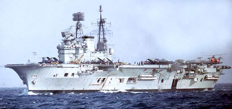 HMS Eagle January 1970