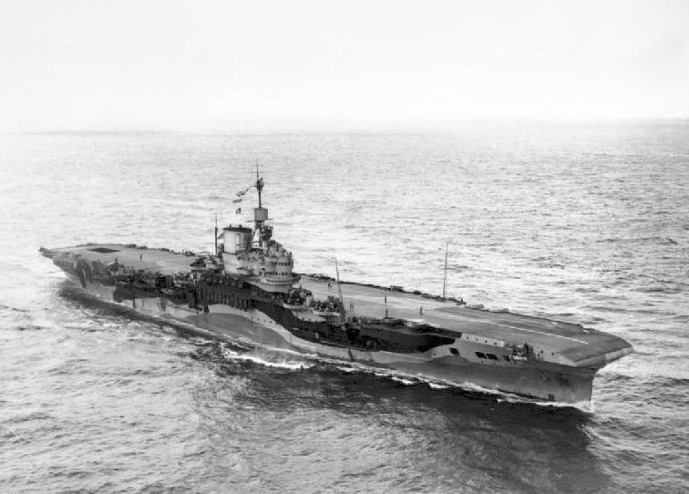 HMS Formidable 1942