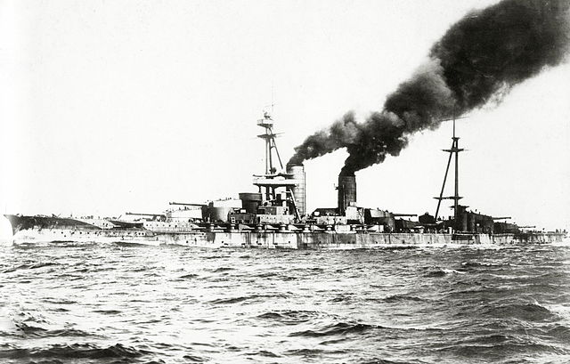 Ise on speed trials 1918