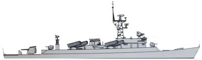 Type 065H2 Frigate -Jianghu III