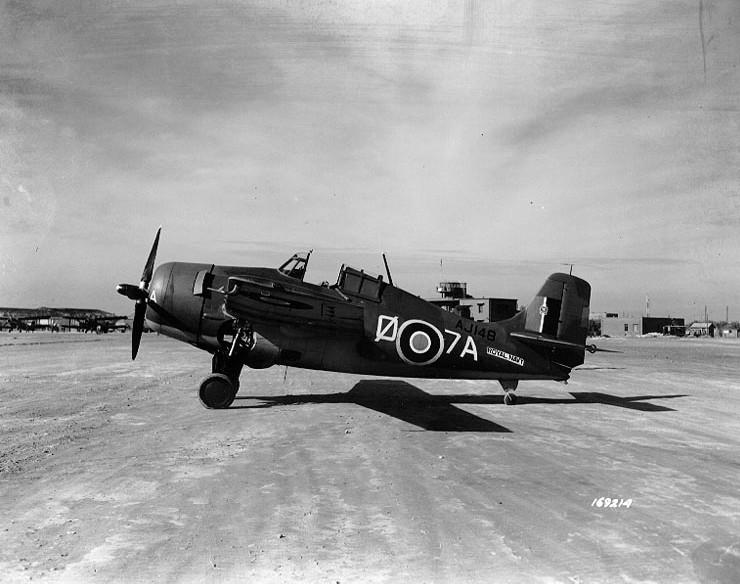 Martlet Mk.II HMS Formidable Oran December 1942