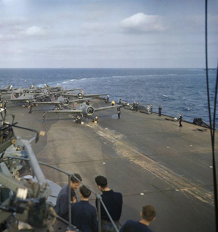 Martket and Seafire Operation Torch Nov 42