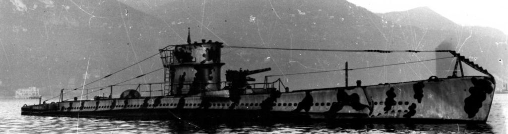 Perla - Acciaio group wartime coastal Italian submersible