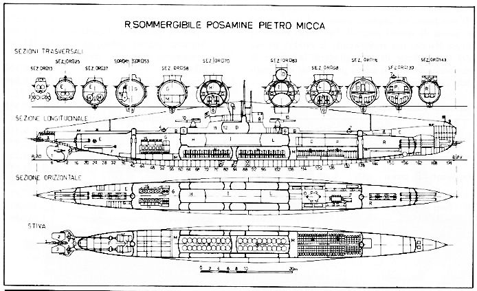 Blueprint Pietro Micca