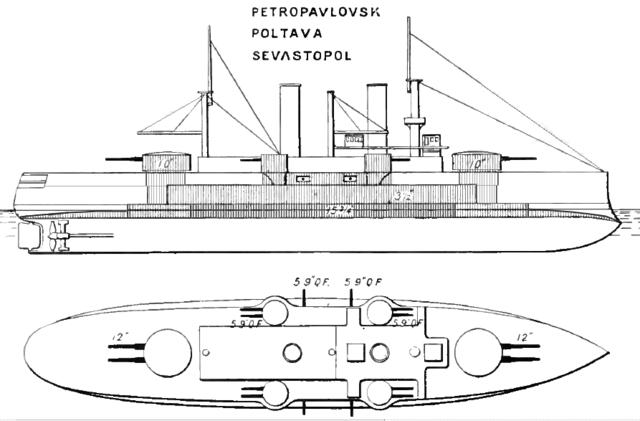 Battleship Poltava - Brasseys 1902