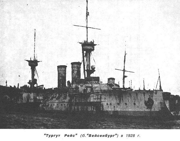 NRP Torgut Reis in 1918