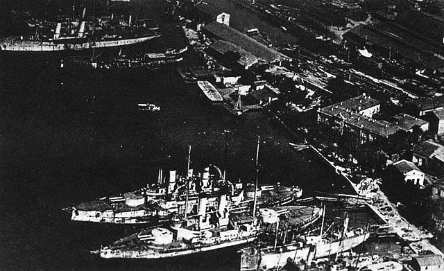 Tri Sviatitelia and the black sea fleet as Sevastopol 1918