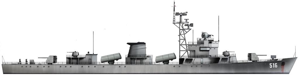 HD Artist's Impression of the Type 053H1 Frigate -Jianghu I