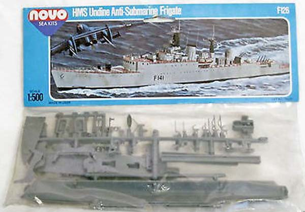 Novo kit British cold war frigate