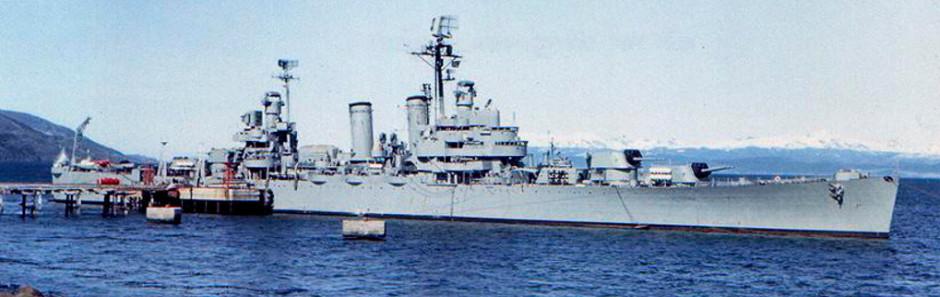 ARA Belgrano in April 1982