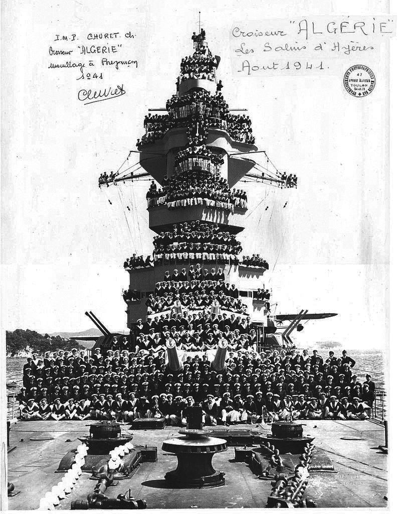Algérie and crew at Bregançon