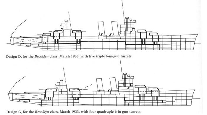 Brooklyn class preliminary designs