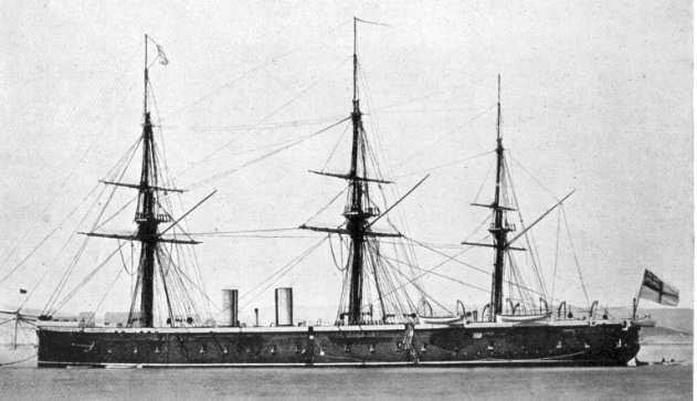 HMS Achilles 1863