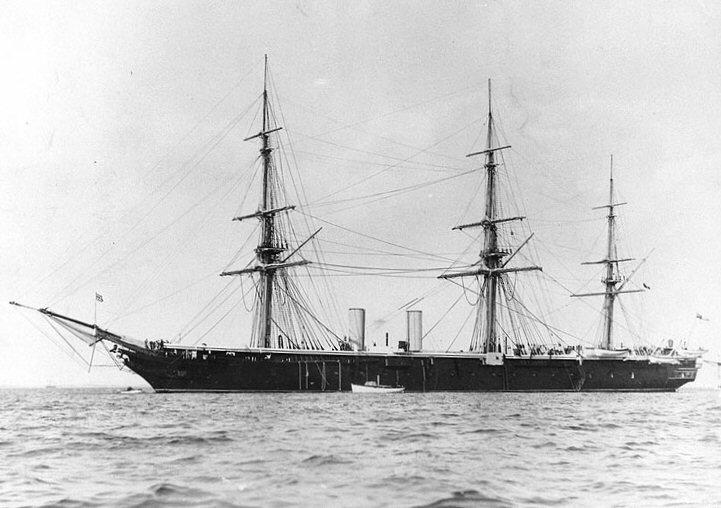 HMS Black Prince 1861