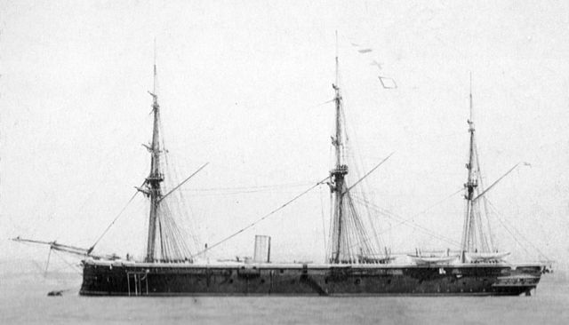 hms defence past 1866