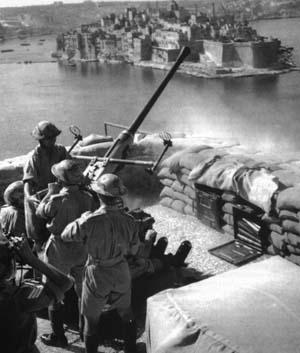 Matilda II tank Griffin at Malta