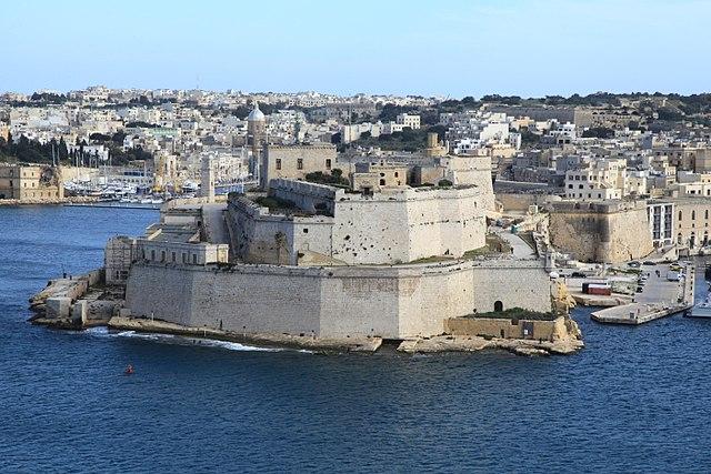 Malta san angelo fort