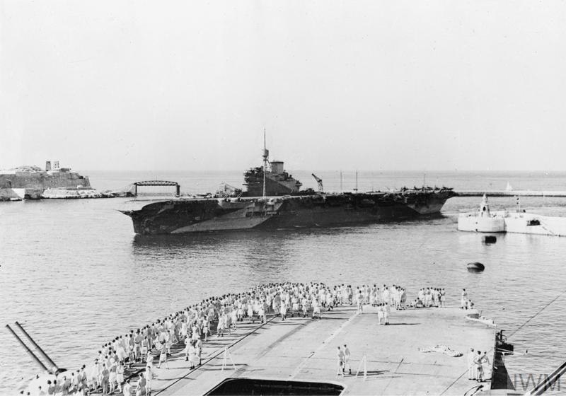 HMS Formidable Malta 1943