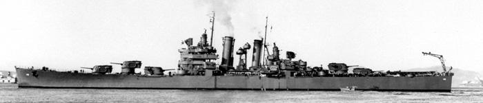 Profile USS Brooklyn - navsource.org