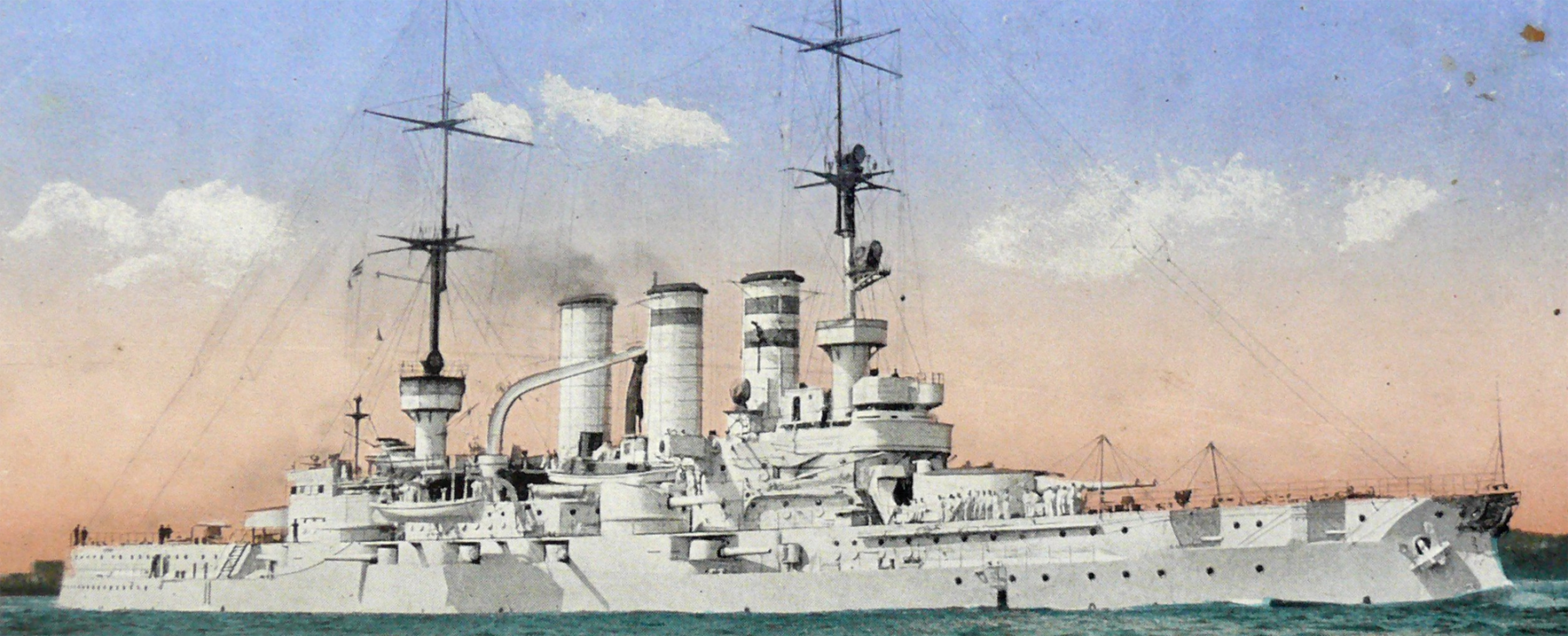 HD illustration of the SMS Essen
