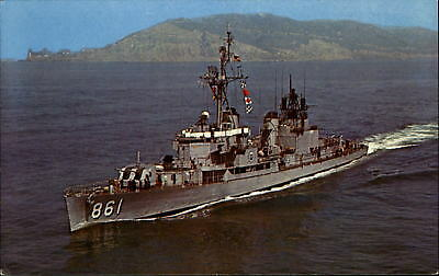 uss harwood of the gearing class