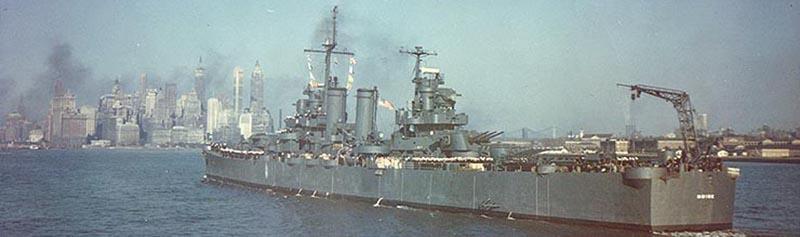 USS Boise off NY