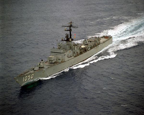 USS Albert David 1965