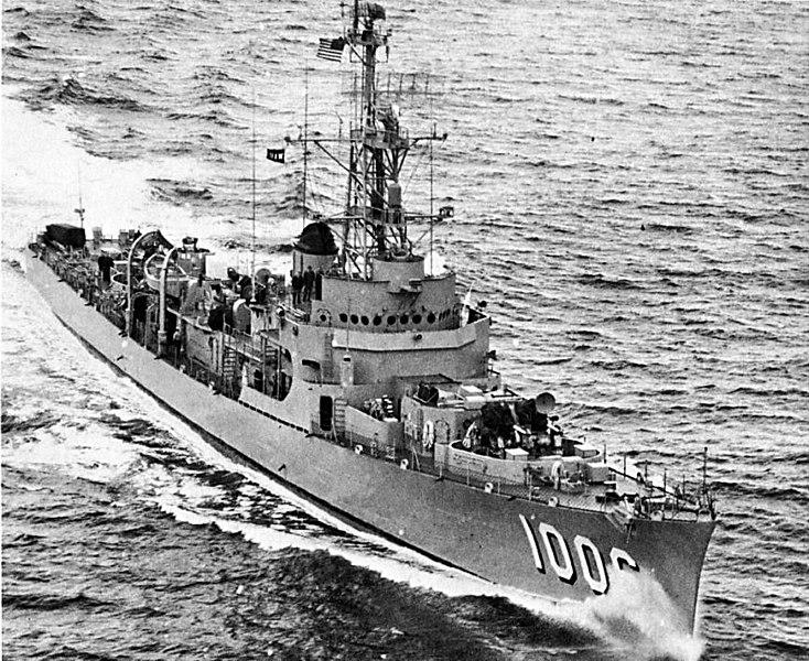 USS dealey May 1954