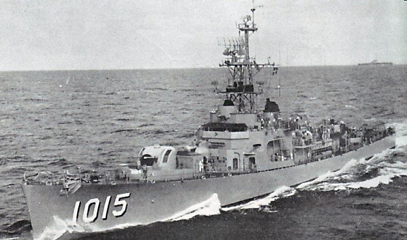 USS Hammerberg 1957
