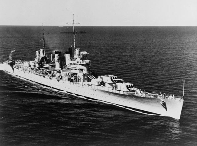 USS Honolulu 9 February 1939