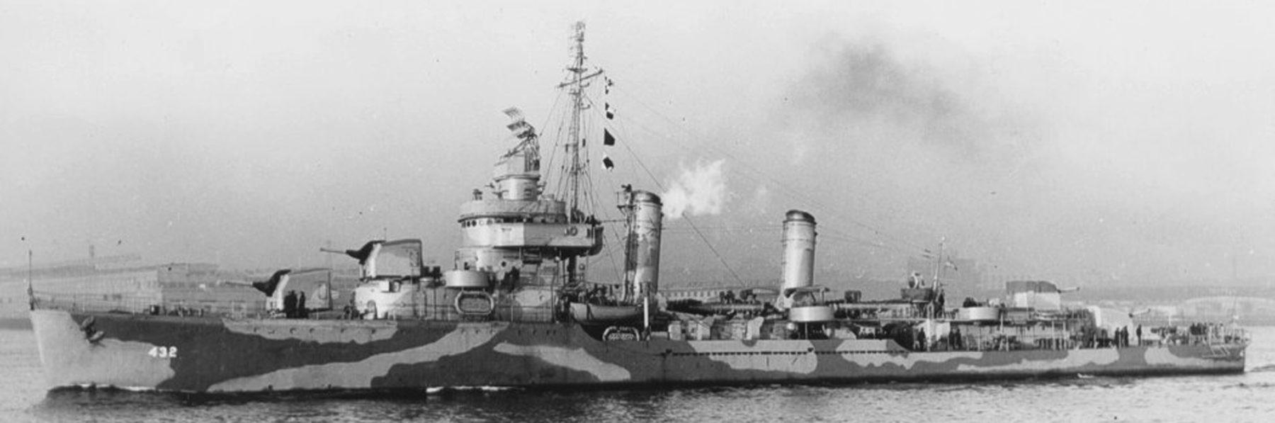 WW2 American destroyers