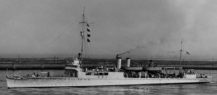 USS Manley APD-1
