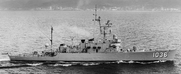 USS McMorris Oahu 1972