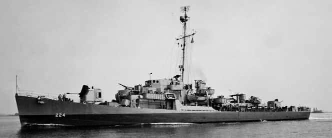 USS Rudderow - TEV type