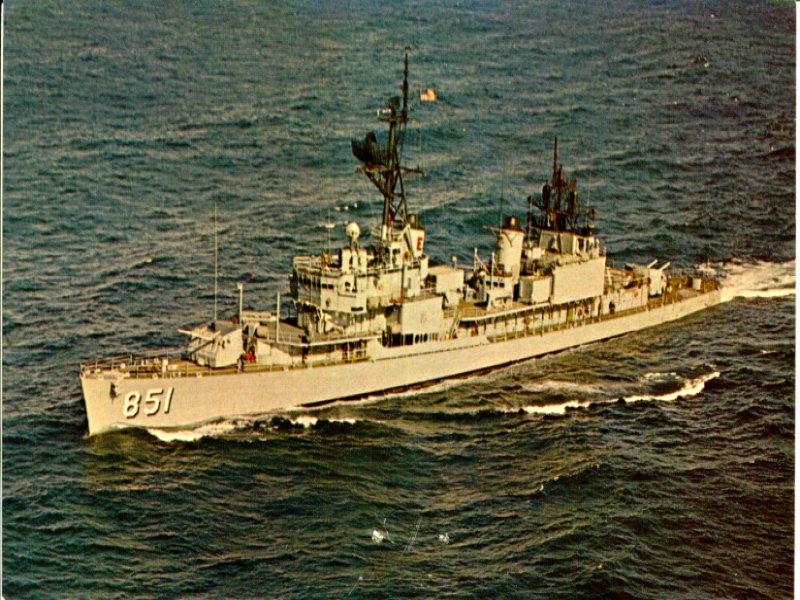 USS Chevalier - Gearing class blueprints