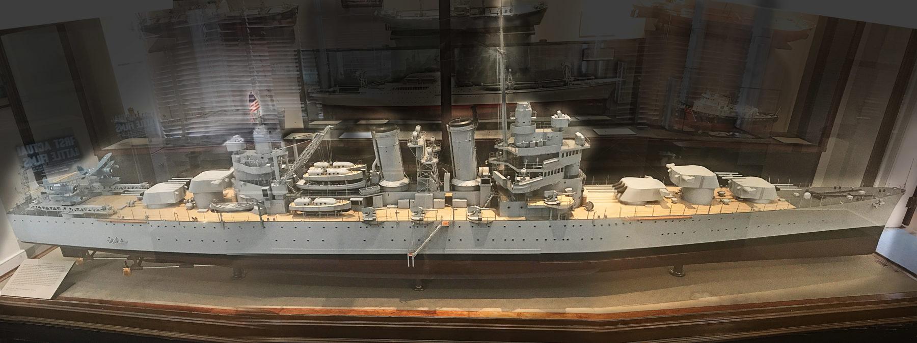 shipyard model of the Savannah
