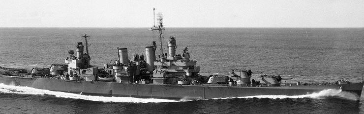 USS Savannah 1944