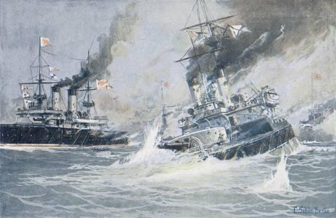 Tsushima decisive battle