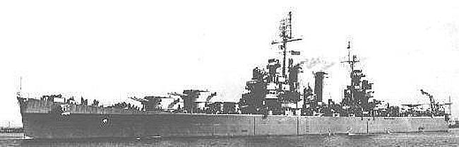 USS Philadelphia 1944