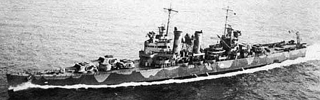 USS Brooklyn 1942
