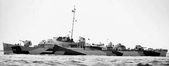 USS John C Butler, WGT type