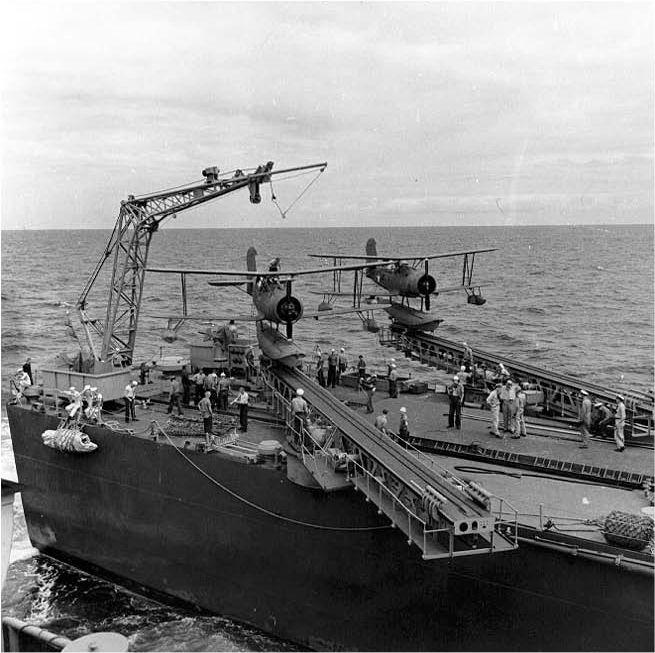 Curtiss SOC stern launch