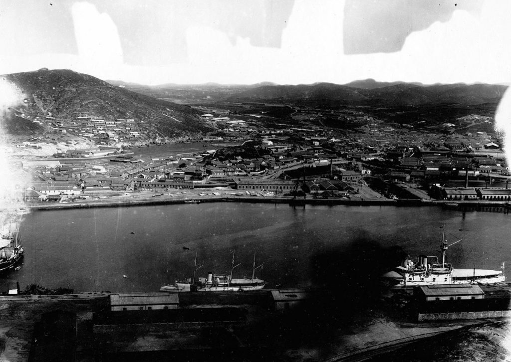 Aerial view of Port Arthur