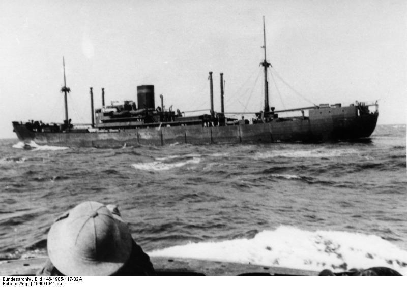 German merchant raider KMS Kormoran