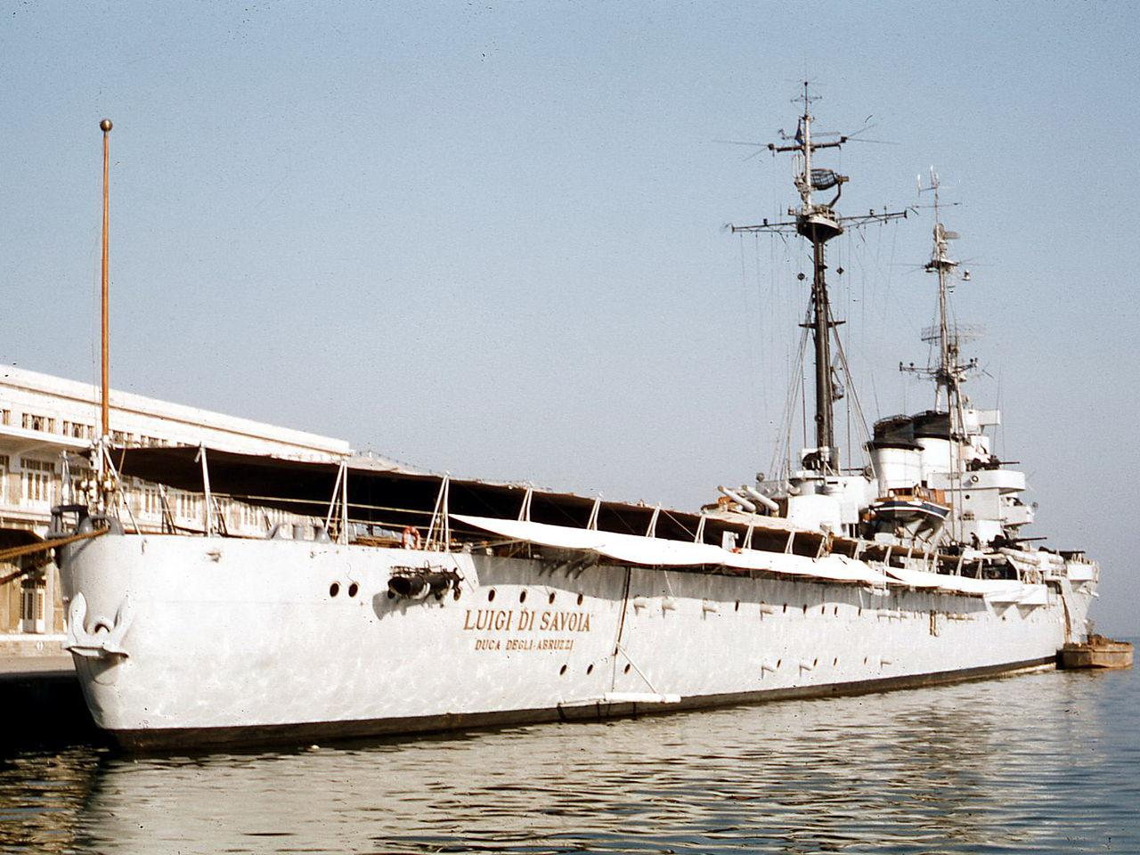 Duca Degli Abruzzi at Trieste in 1959